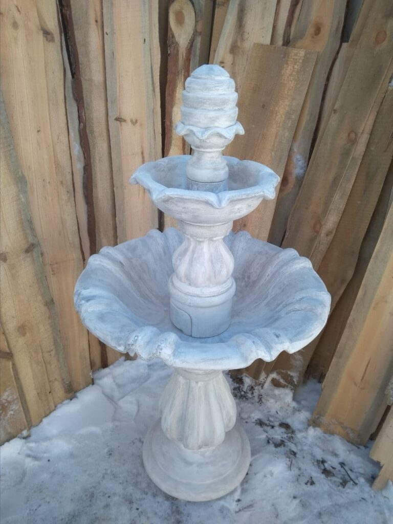 Модель фонтана выполненная на заказ
