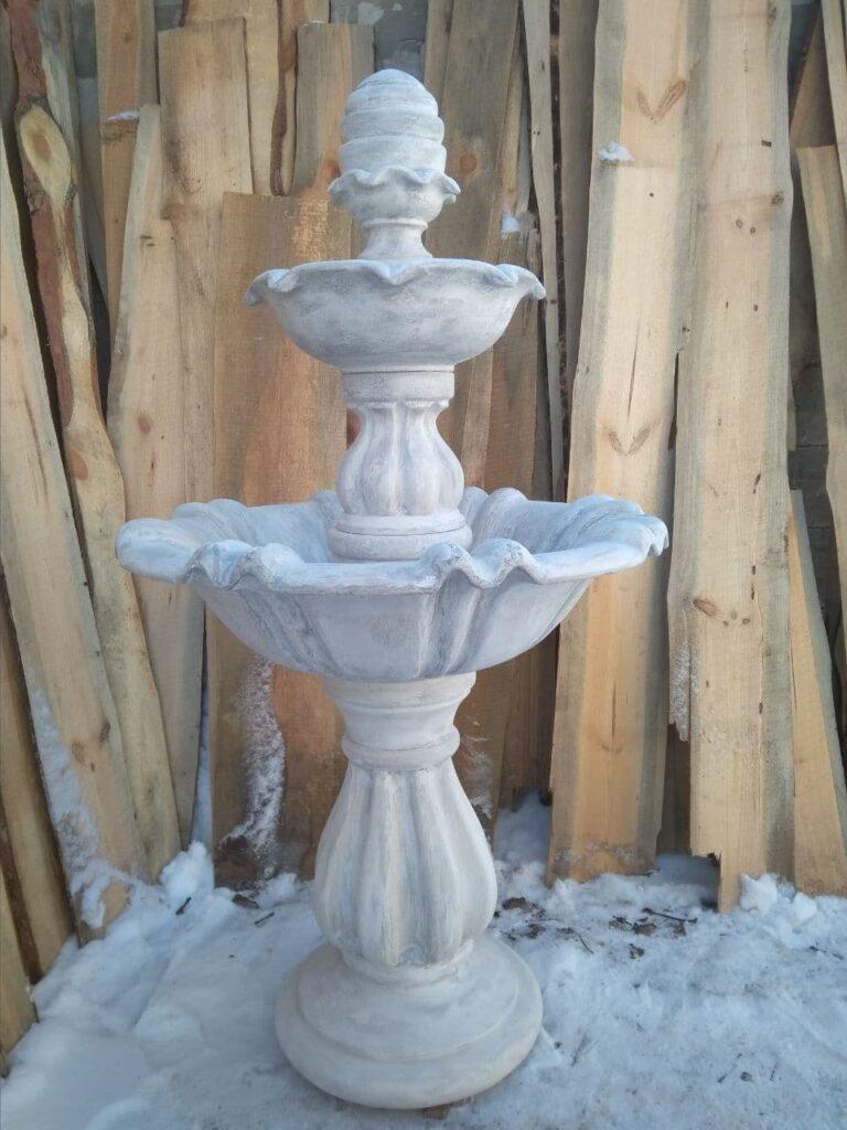 форма для фонтана из бетона